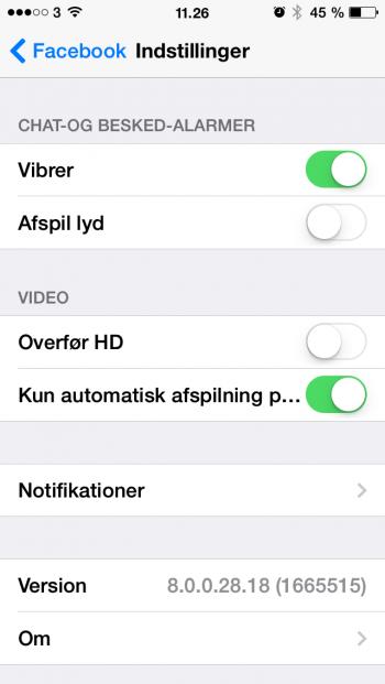 Stop video autostart Facebook-newsfeed