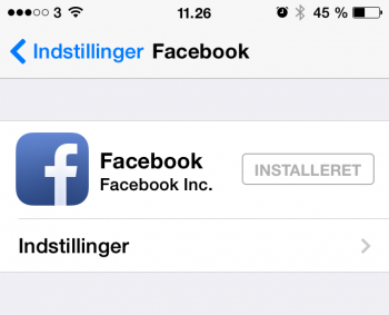Indstil Facebook app på iPhone til ikke at autostarte videoer