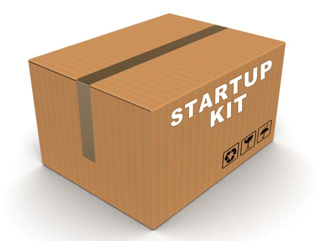 Du bestemmer selv, hvilke moduler der skal med i dit startup kit