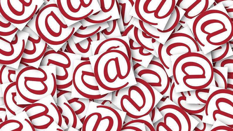 Send ikke (mere) email til mange adresser