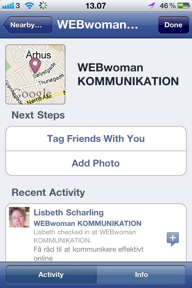 Undgå at blive tagget på Facebook Places