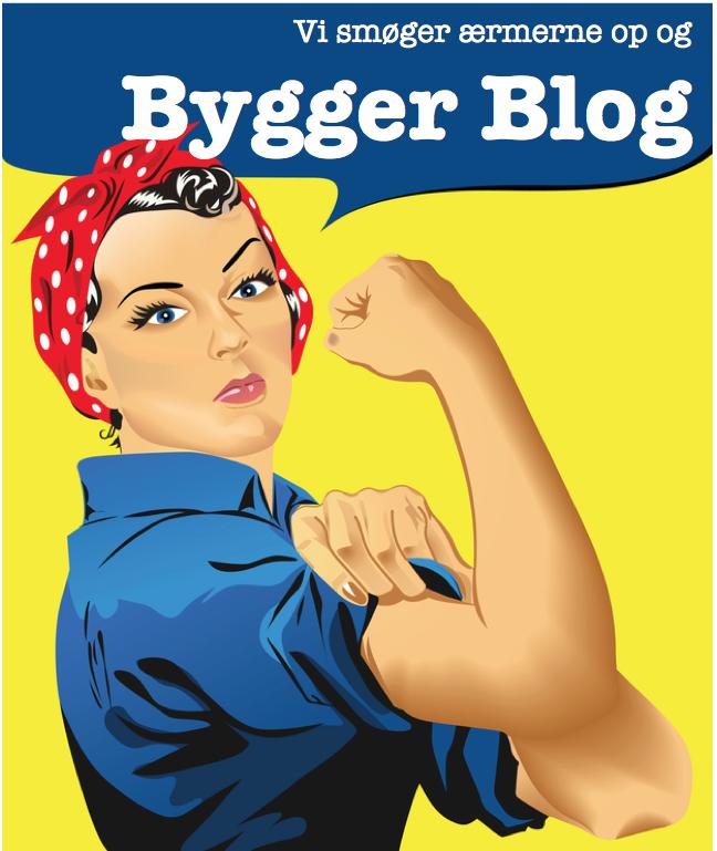 Vi bygger blog
