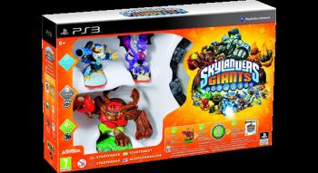 Skylanders Giants - startpakke med spil, portal og tre figurer. Det blev starten på en større investering