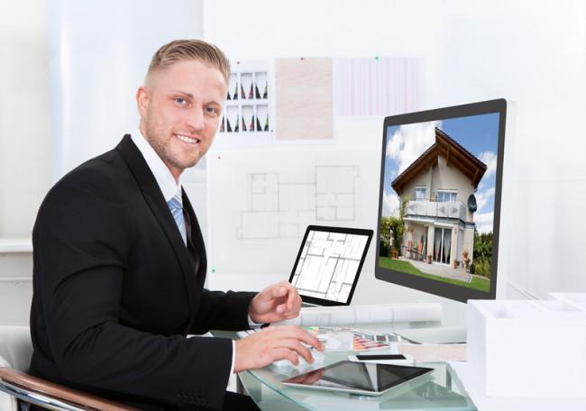 ejendomsmæglere dumper i online content marketing
