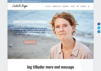 Kropsterapeut Lisbeth Degn