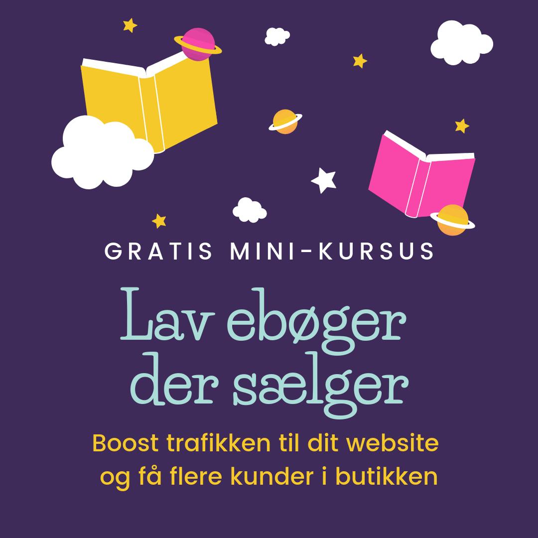 gratis minikursus i at lave ebøger