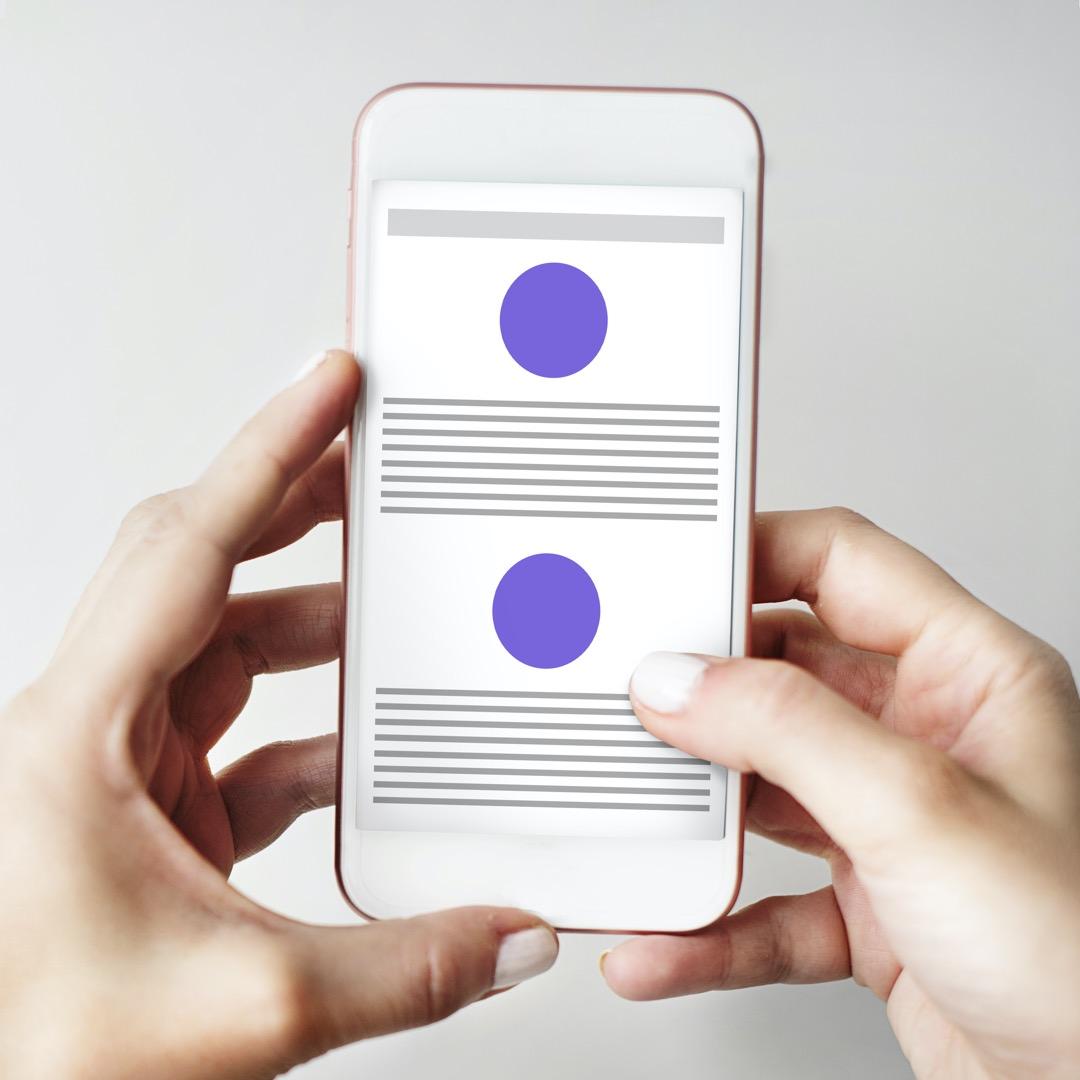 Digitale overskrifter fanger øjet og opmærksomheden