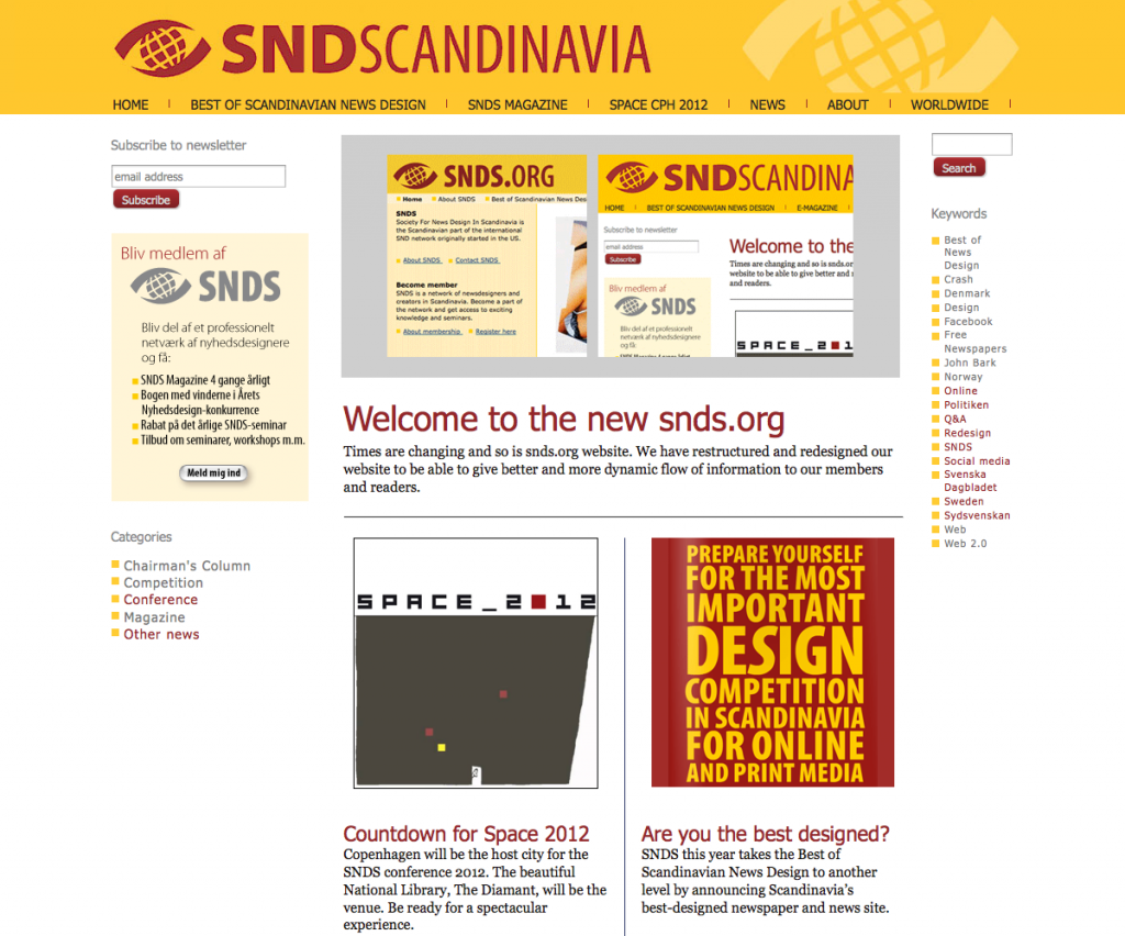 snds - Skandinaviske webdesignere