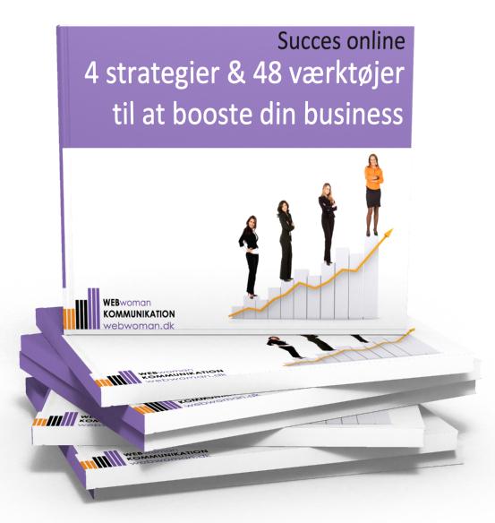 4 strategier & 48 værktøjer til at booste din business