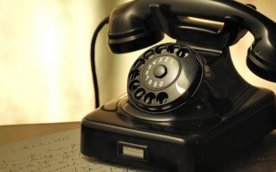 Mere telefonsnak – færre email og færre sms