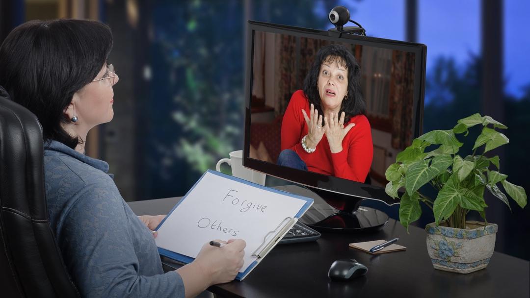Psykologer og andre behandlere skal være særligt varsomme med at bruge Zoom